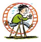 Hamster Wheel of Life
